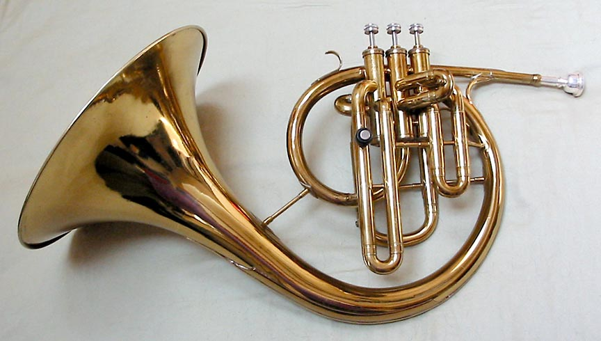 Don Elliott's Custom Conn Mellophone